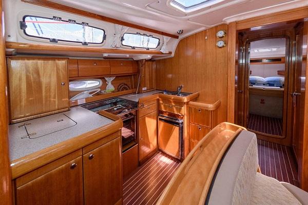 18. Bavaria 46CR - Chloe -Medsail Malta Yacht Sailing Charters - Galley