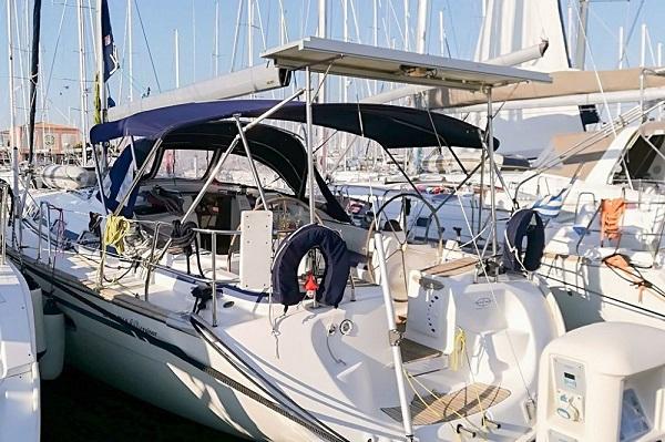 18. Bavaria 46CR - Chloe -Medsail Malta Yacht Sailing Charters - Stern