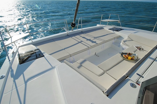 Bali 4.1 -Medsail Malta Sail Yacht Charters - Front Deck