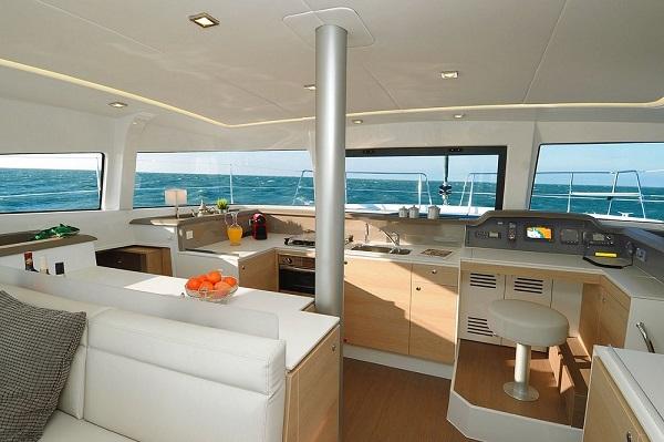 Bali 4.1 - Medsail Malta Sail Yacht Charters - Interior