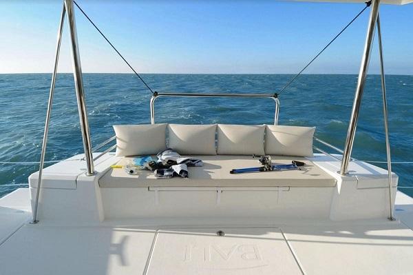 Bali 4.1 -Medsail Malta Sail Yacht Charters - Sofa