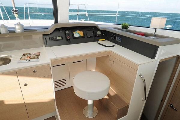 Bali 4.1 - Medsail Malta Sail Yacht Charters - Work Station