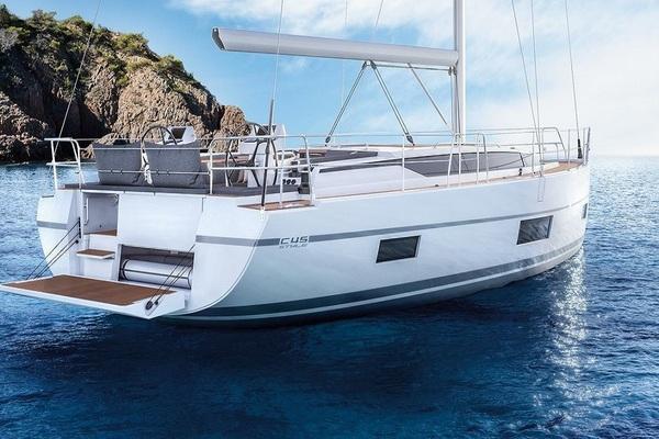 Bavaria C45 - Outlander - Medsail-Malta-Malta Charters - On Anchor