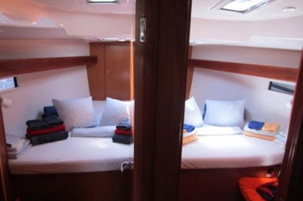 Bavaria CR45 - Moonmist - Medsail Malta Yachts Charters - Cabins