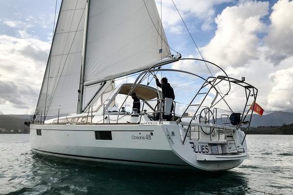 Beneteau Oceanis 48F - Wayward Prince -Medsail-Malta- Malta Charters - Sailing