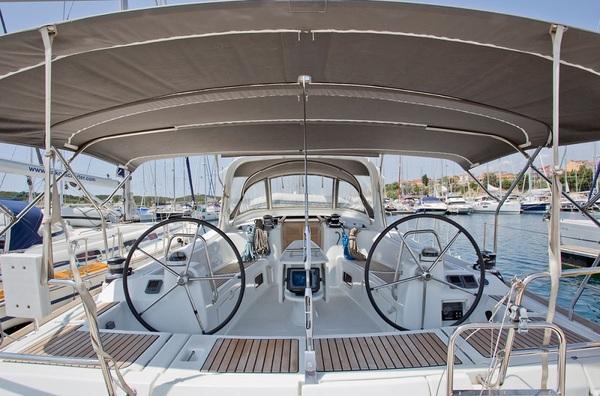 Beneteau Oceanis 50F - In Compliance - Medsail-Malta-Malta Charters - Cockpit