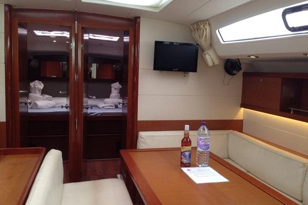 Beneteau Oceanis 50F - In Compliance - Medsail-Malta-Malta Charters - Saloon