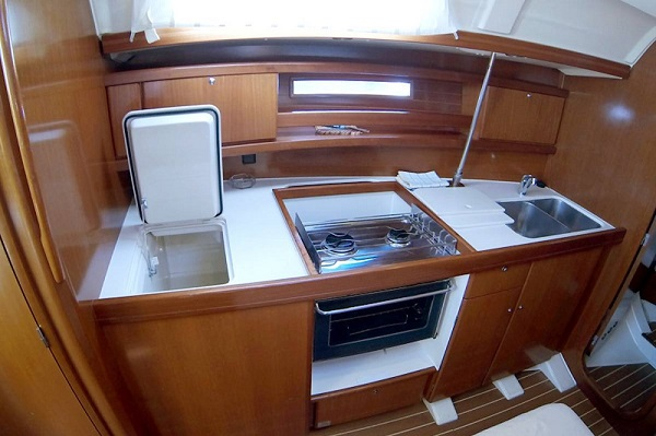 Dufour 365 Skiros Medsail Malta Sailing Yachts Charters Galley