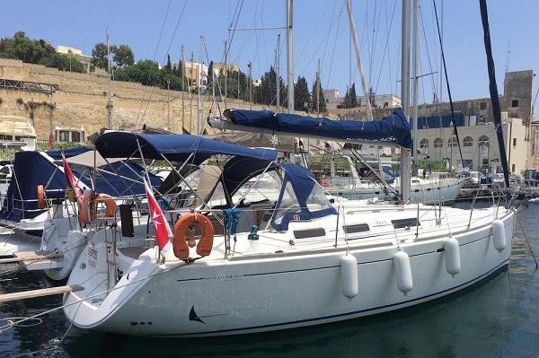 Dufour 365 Skiros Medsail Malta Sailing Yachts Charters Kalkara Marina