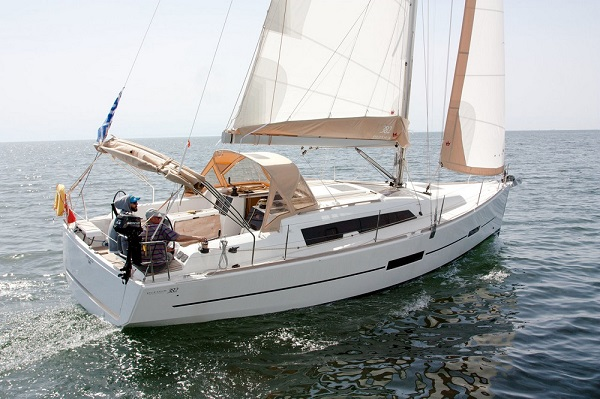 Dufour 382 - medsail-Pleasant Company Malta Charters Sailing