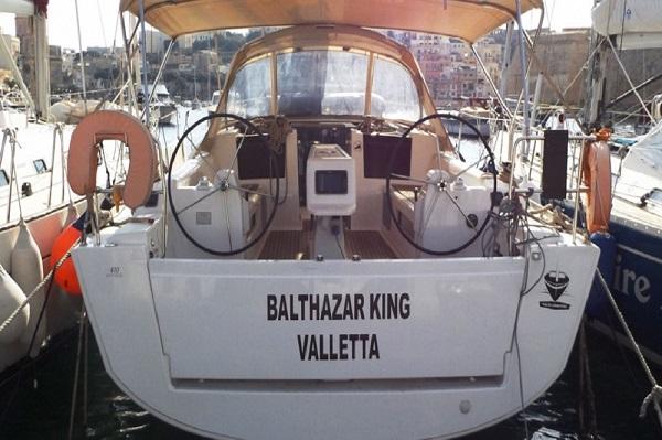 Dufour 410 -Medsail- Malta Charters - Stern