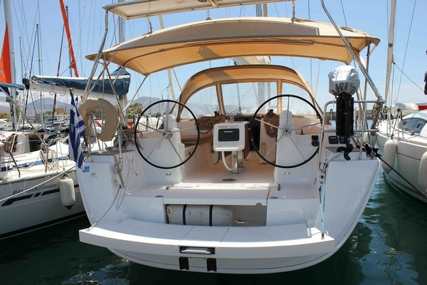 Dufour 450GL - Oscar Time - Medsail-Malta-Malta Charters - Stern
