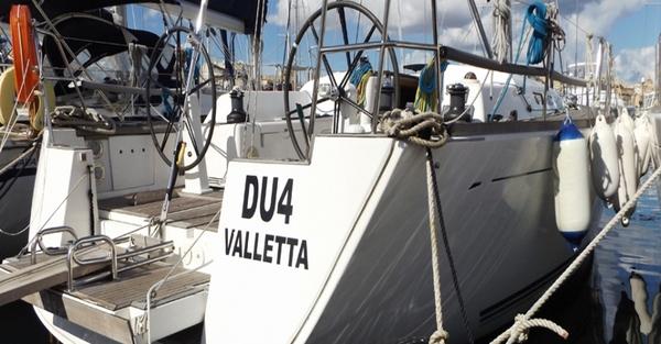 Dufour 45P - DU4 -Medsail-Malta- Malta Charters - Stern
