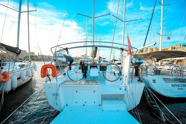 Dufour 460GL - Gerry - Medsail-Malta-Malta Charters - Kalkara Marina