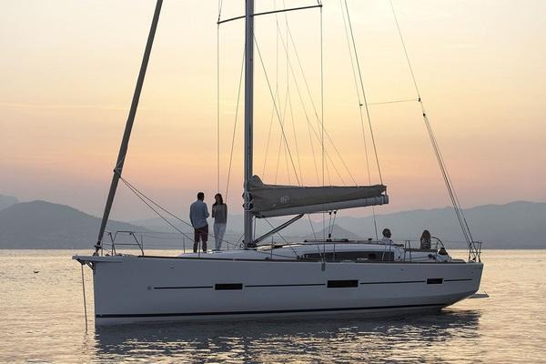 Dufour 460GL - Gerry - Medsail-Malta-Malta Charters - On Anchor
