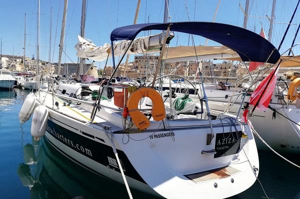 Grand Soleil 40P - Aziza Medsail Malta Sailing Yacht Charters - Kalkara Marina