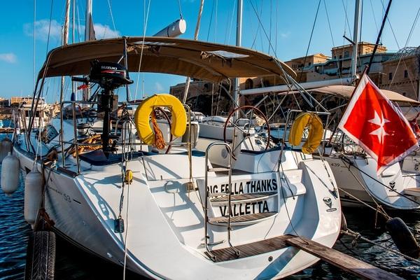 Jeanneau 53 - Big Fella Thanks -Medsail-Malta- Malta Charters - Stern
