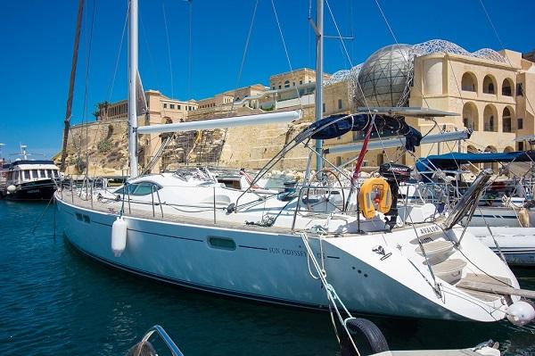 Jeanneau 54DS - Avalon - Medsail Malta - Kalkara Marina