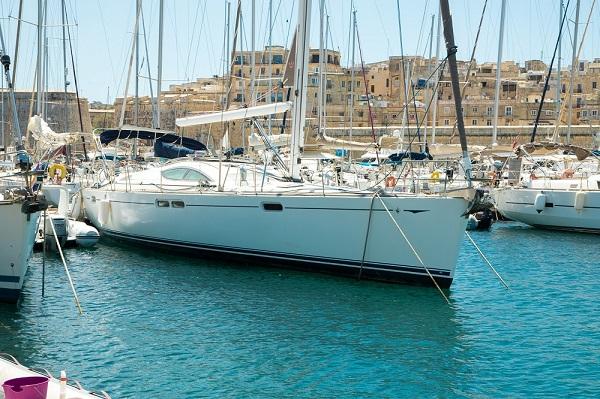 Jeanneau 54DS - Avalon - Medsail Malta - Kalkara Marina - Bow View