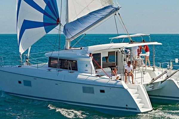Lagoon 421 - Double Seven - Medsail Malta Saily Yaht Charters - Sailing