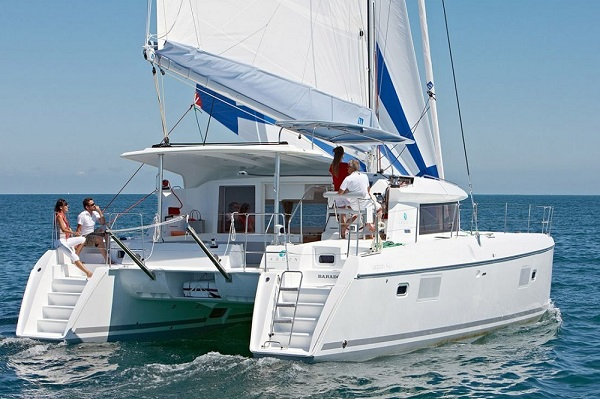 Lagoon 421 - Double Seven - Medsail Malta Saily Yaht Charters - Under Sail