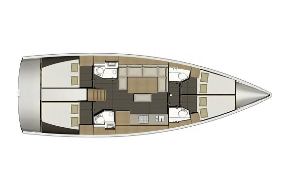 Medsail Malta Yacht Sailing Charters - Layout
