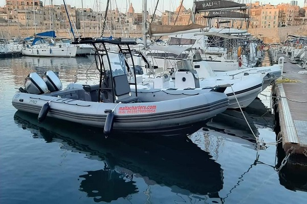 Self-Drive-RIB-Charter-3 Medsail Malta